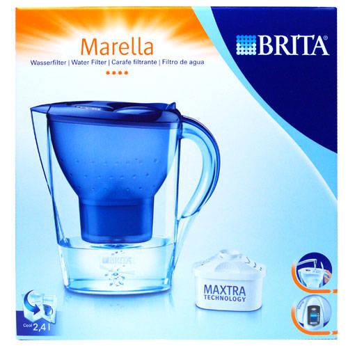brita marella cool blue waterfilterkan 2 4 liter dagelijkse koopjes en internet aanbiedingen. Black Bedroom Furniture Sets. Home Design Ideas