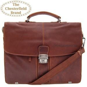the chesterfield brand vintage laptoptas cognac 19 00 23 59u dagelijkse koopjes en. Black Bedroom Furniture Sets. Home Design Ideas