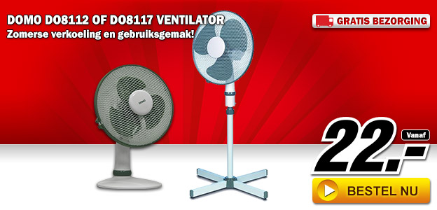domo do8112 of do8117 ventilator dagelijkse koopjes en internet aanbiedingen. Black Bedroom Furniture Sets. Home Design Ideas